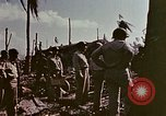 Image of Admiral Chester Nimitz Kwajalein Island Marshall Islands, 1944, second 37 stock footage video 65675072047