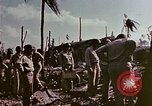 Image of Admiral Chester Nimitz Kwajalein Island Marshall Islands, 1944, second 39 stock footage video 65675072047