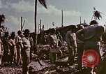 Image of Admiral Chester Nimitz Kwajalein Island Marshall Islands, 1944, second 40 stock footage video 65675072047