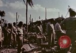 Image of Admiral Chester Nimitz Kwajalein Island Marshall Islands, 1944, second 41 stock footage video 65675072047