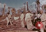 Image of Admiral Chester Nimitz Kwajalein Island Marshall Islands, 1944, second 46 stock footage video 65675072047