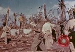 Image of Admiral Chester Nimitz Kwajalein Island Marshall Islands, 1944, second 48 stock footage video 65675072047