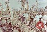 Image of Admiral Chester Nimitz Kwajalein Island Marshall Islands, 1944, second 56 stock footage video 65675072047