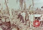 Image of Admiral Chester Nimitz Kwajalein Island Marshall Islands, 1944, second 57 stock footage video 65675072047