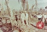 Image of Admiral Chester Nimitz Kwajalein Island Marshall Islands, 1944, second 59 stock footage video 65675072047