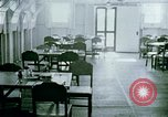 Image of Alien internment center dining facility Crystal City Texas USA, 1943, second 3 stock footage video 65675072068