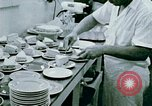 Image of Alien internment center dining facility Crystal City Texas USA, 1943, second 22 stock footage video 65675072068