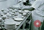 Image of Alien internment center dining facility Crystal City Texas USA, 1943, second 23 stock footage video 65675072068