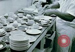 Image of Alien internment center dining facility Crystal City Texas USA, 1943, second 24 stock footage video 65675072068
