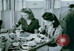 Image of Alien internment center dining facility Crystal City Texas USA, 1943, second 50 stock footage video 65675072068