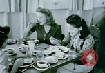Image of Alien internment center dining facility Crystal City Texas USA, 1943, second 52 stock footage video 65675072068