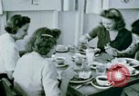 Image of Alien internment center dining facility Crystal City Texas USA, 1943, second 54 stock footage video 65675072068