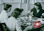 Image of Alien internment center dining facility Crystal City Texas USA, 1943, second 55 stock footage video 65675072068