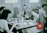 Image of Alien internment center dining facility Crystal City Texas USA, 1943, second 57 stock footage video 65675072068