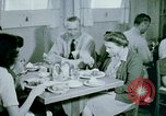 Image of Alien internment center dining facility Crystal City Texas USA, 1943, second 58 stock footage video 65675072068