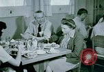 Image of Alien internment center dining facility Crystal City Texas USA, 1943, second 59 stock footage video 65675072068