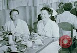 Image of Alien internment center dining facility Crystal City Texas USA, 1943, second 62 stock footage video 65675072068