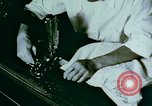 Image of Alien internment sewing projects Crystal City Texas USA, 1943, second 39 stock footage video 65675072071