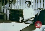 Image of Alien internment sewing projects Crystal City Texas USA, 1943, second 55 stock footage video 65675072071