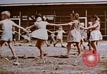 Image of Alien enemy internment center school Crystal City Texas USA, 1943, second 52 stock footage video 65675072073