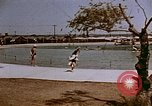 Image of Alien internment swimming pool during World War 2 Crystal City Texas USA, 1943, second 3 stock footage video 65675072074