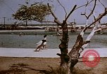 Image of Alien internment swimming pool during World War 2 Crystal City Texas USA, 1943, second 5 stock footage video 65675072074