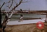 Image of Alien internment swimming pool during World War 2 Crystal City Texas USA, 1943, second 9 stock footage video 65675072074