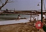 Image of Alien internment swimming pool during World War 2 Crystal City Texas USA, 1943, second 11 stock footage video 65675072074