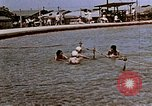 Image of Alien internment swimming pool during World War 2 Crystal City Texas USA, 1943, second 13 stock footage video 65675072074