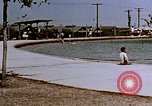 Image of Alien internment swimming pool during World War 2 Crystal City Texas USA, 1943, second 17 stock footage video 65675072074