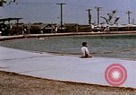 Image of Alien internment swimming pool during World War 2 Crystal City Texas USA, 1943, second 18 stock footage video 65675072074