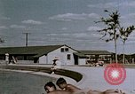 Image of Alien internment swimming pool during World War 2 Crystal City Texas USA, 1943, second 44 stock footage video 65675072074