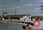 Image of Alien internment swimming pool during World War 2 Crystal City Texas USA, 1943, second 45 stock footage video 65675072074