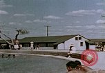 Image of Alien internment swimming pool during World War 2 Crystal City Texas USA, 1943, second 46 stock footage video 65675072074