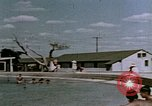 Image of Alien internment swimming pool during World War 2 Crystal City Texas USA, 1943, second 47 stock footage video 65675072074