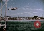 Image of Alien internment swimming pool during World War 2 Crystal City Texas USA, 1943, second 51 stock footage video 65675072074