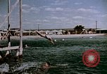 Image of Alien internment swimming pool during World War 2 Crystal City Texas USA, 1943, second 54 stock footage video 65675072074