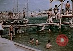Image of Alien internment swimming pool during World War 2 Crystal City Texas USA, 1943, second 61 stock footage video 65675072074