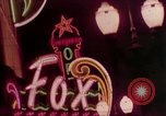 Image of neon signs of casinos and motels Las Vegas Nevada USA, 1958, second 12 stock footage video 65675072077