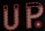 Image of neon signs United States USA, 1958, second 52 stock footage video 65675072079