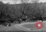 Image of Bureau of Prohibition agents destroy a whiskey distillery United States USA, 1932, second 52 stock footage video 65675072090