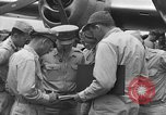 Image of review of mission Saipan Northern Mariana Islands, 1945, second 1 stock footage video 65675072101