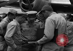 Image of review of mission Saipan Northern Mariana Islands, 1945, second 4 stock footage video 65675072101