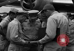 Image of review of mission Saipan Northern Mariana Islands, 1945, second 6 stock footage video 65675072101