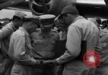 Image of review of mission Saipan Northern Mariana Islands, 1945, second 7 stock footage video 65675072101