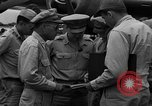 Image of review of mission Saipan Northern Mariana Islands, 1945, second 13 stock footage video 65675072101