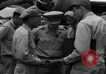 Image of review of mission Saipan Northern Mariana Islands, 1945, second 14 stock footage video 65675072101