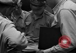 Image of review of mission Saipan Northern Mariana Islands, 1945, second 19 stock footage video 65675072101