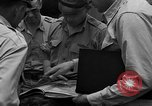 Image of review of mission Saipan Northern Mariana Islands, 1945, second 22 stock footage video 65675072101
