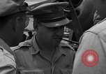 Image of review of mission Saipan Northern Mariana Islands, 1945, second 23 stock footage video 65675072101